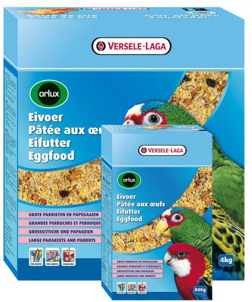 Orlux Eifutter 4kg trocken GS+ Papageien