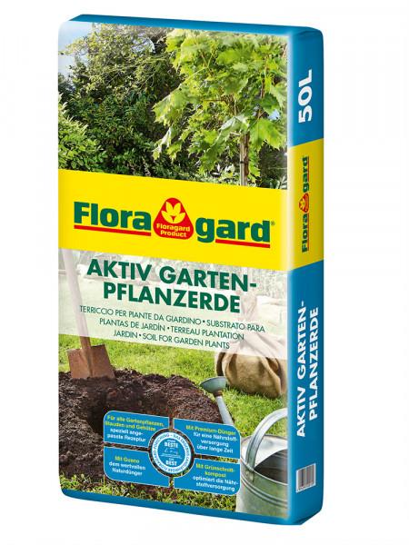 Aktiv Garten- und Pflanzenerde 50L