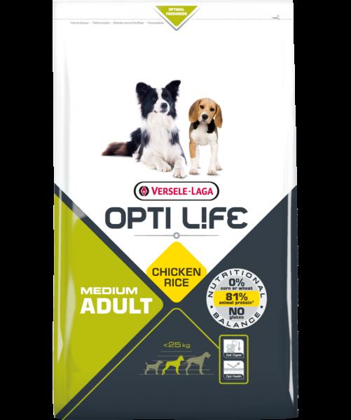 Opti Life Tr 2,5kg Adult Medium