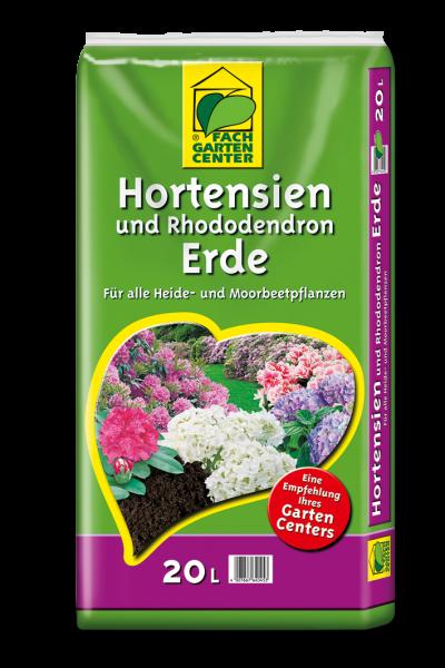 Hortensien und Rhododendronerde 20L / 45L