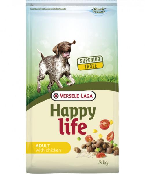 Versele Laga Happy Life 3kg Adult Chicken