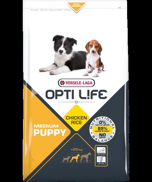 Opti Life Tr 2,5kg Puppy Medium