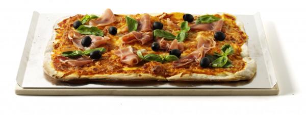 Pizzastein - Eckig 30x44 cm
