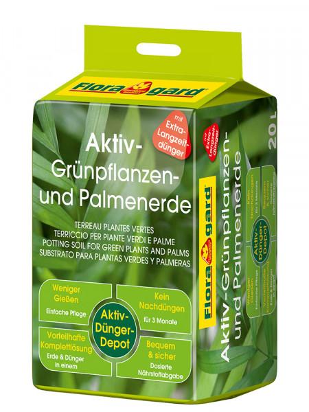 Aktiv Grünpflanzen- und Palmenerde 20L