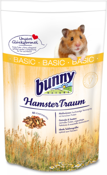 HamsterTraum Basic 600g