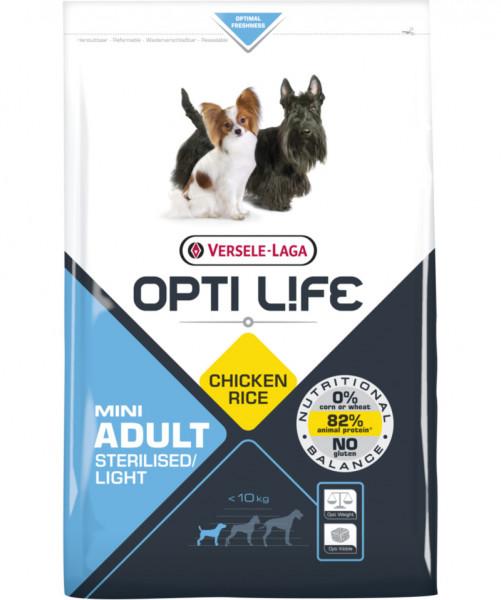 Opti Life Tr 2,5kg Adult Light Mini