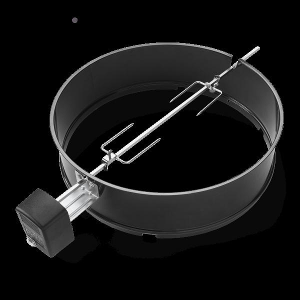 Drehspieß BBQ Holzkohlegrill, 57 cm