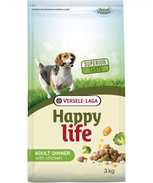 Versele Laga Happy Life 3kg Adult Chicken Dinner