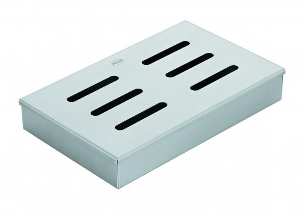 Rösle Räucherbox mit Deckel aus Edelstahl